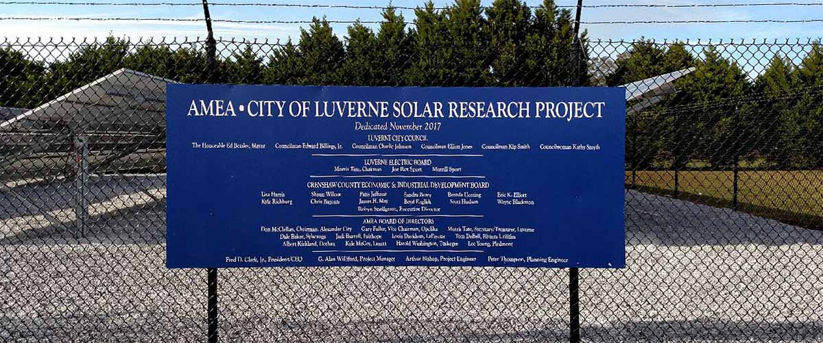 Luverne-Project-Sign