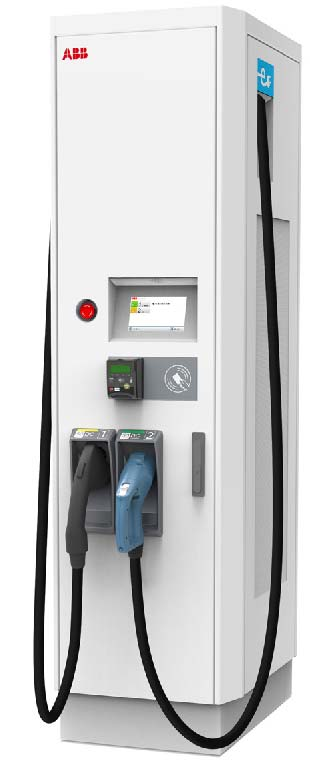 Terra 54 and 55HV UL DC ev chargers