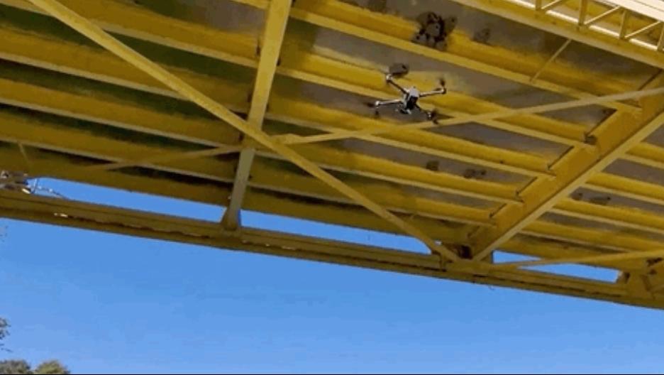 bridge inspection by drone